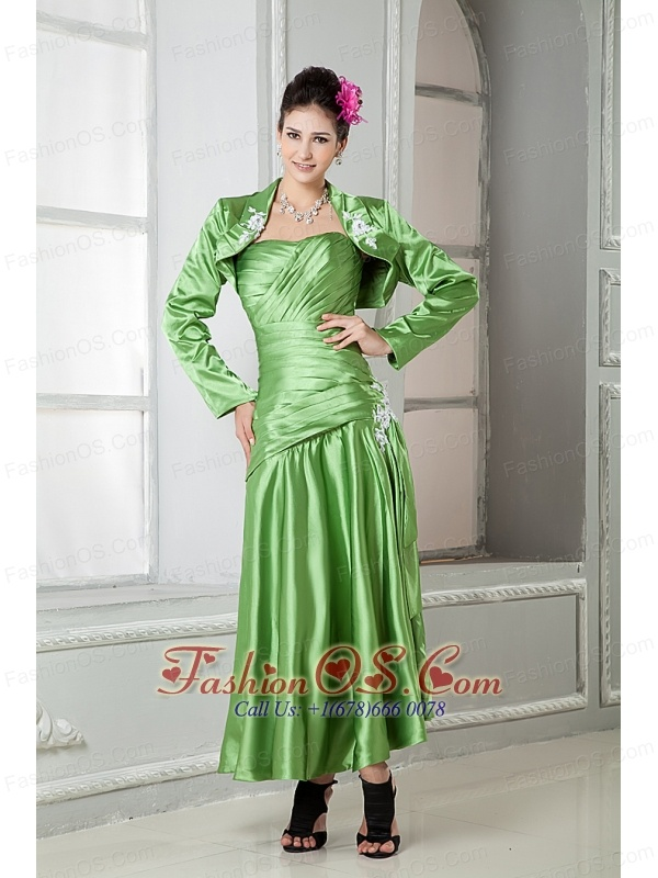 Green Mother of the Bride