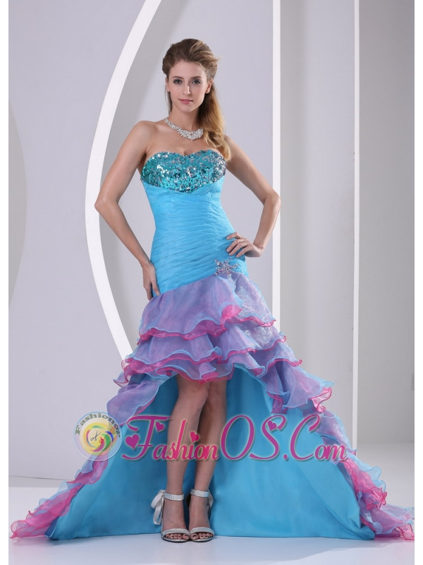 Mermaid Color Dress