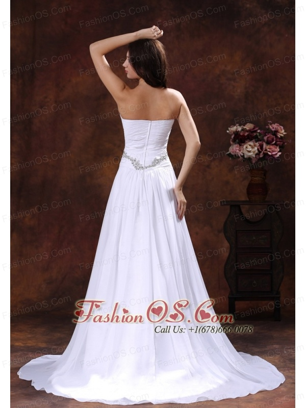 2013 the most popular white a line beaded decorate wedding for Cheap wedding dresses in az