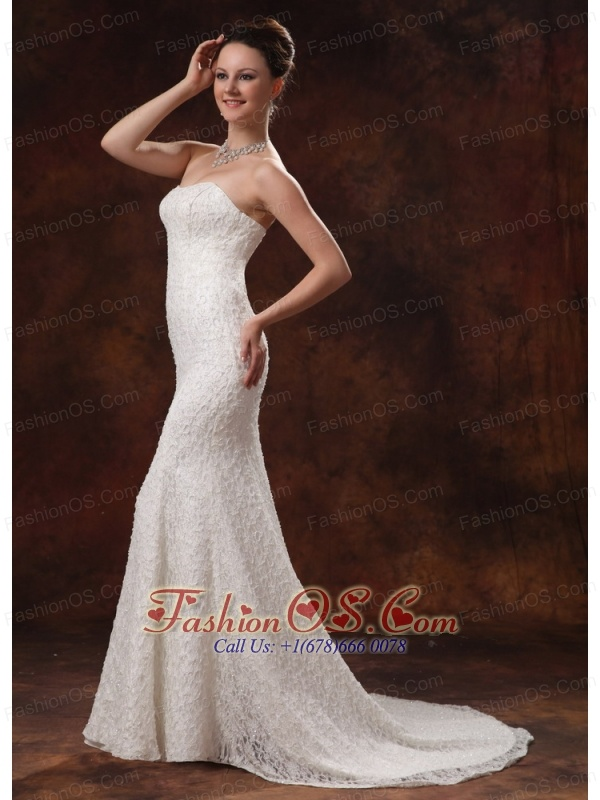 2013 wedding dress for custom made lace mermaid brush for Wedding dresses in ga