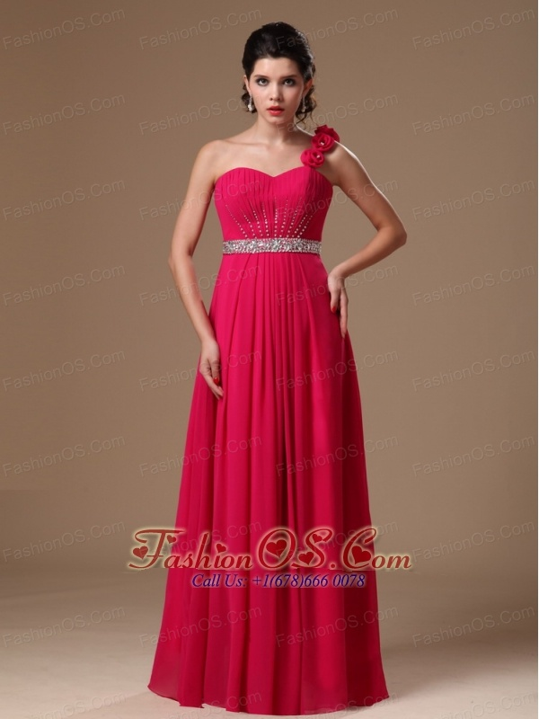 Empire Red Prom Dress