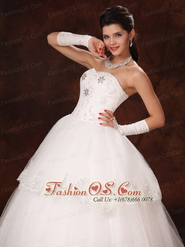 Lace Beaded Sweetheart Church Wedding Dress For Customize Hottest In Orange Beach Alabama