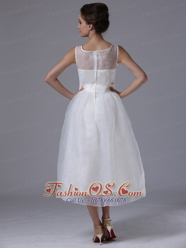 Maternity Tea Length Wedding Dress