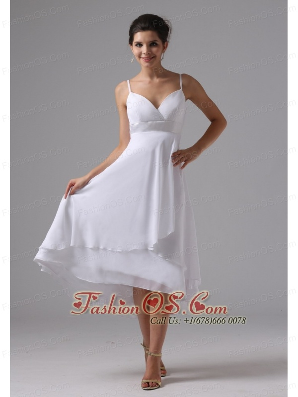 Straps simple short wedding dress custom made chiffon 12028 straps simple short wedding dress custom made chiffon junglespirit Images