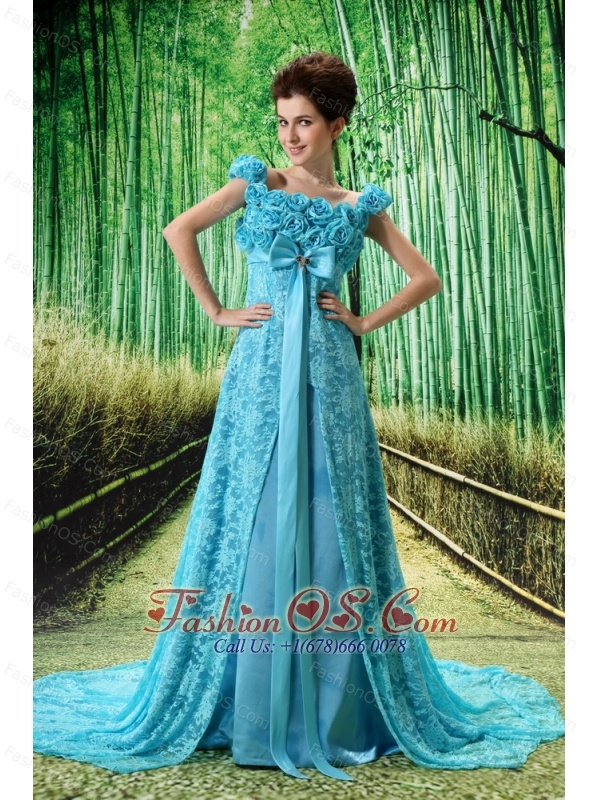 Aqua Mother of Bride Dresses