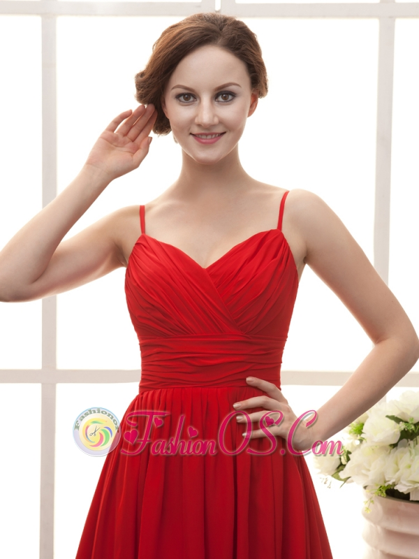 Red Dresses with Straps