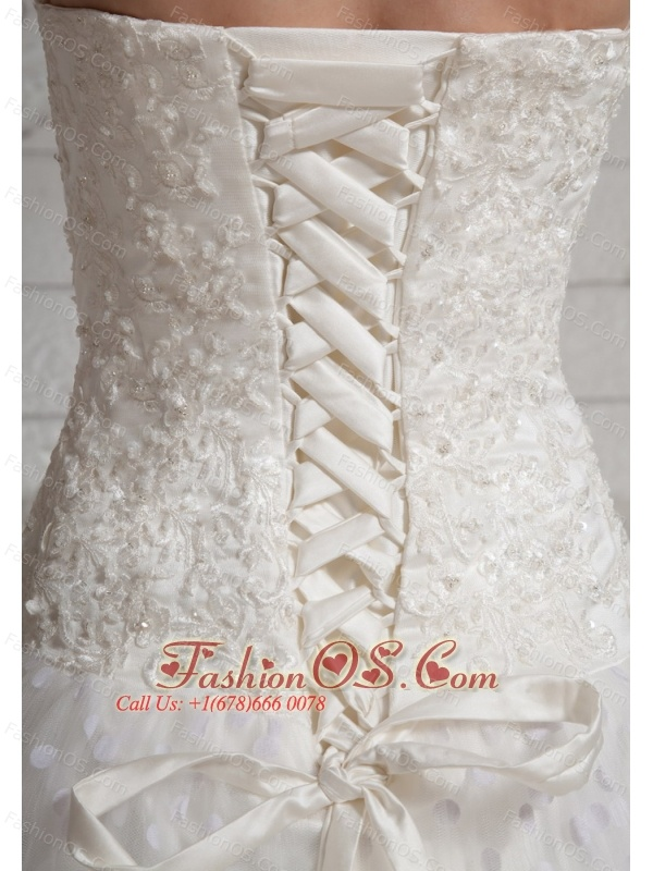 2013 Lace Sweetheart Wedding Dress For Custom Made