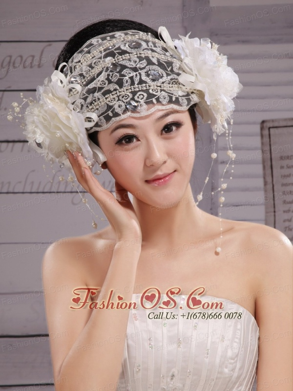 Beautiful Lace Hat Hair Ornament Headpieces Inexpensive Bridal For Party