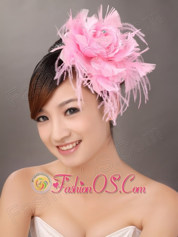 Feather Lovely Beaded Fascinators For Wedding Party