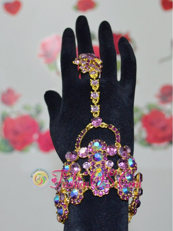 Gorgeous and Colorful Bracelet And Ring