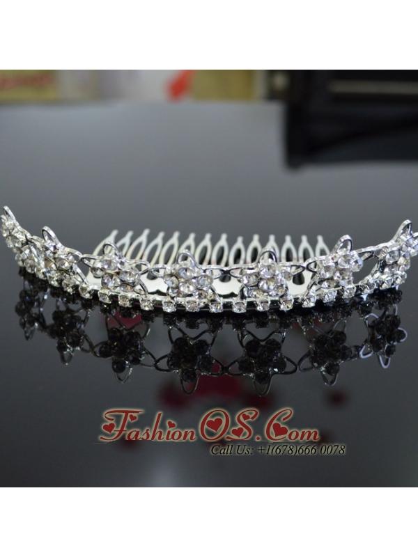 New Hairband/ Tiara With Beaded Decorate