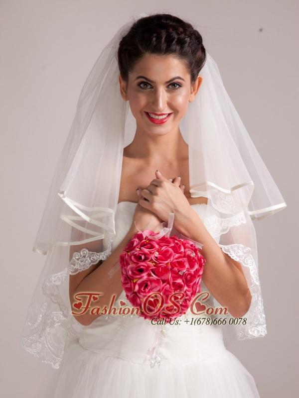 Chic Red Wedding Bridal Bouquet With Pearl