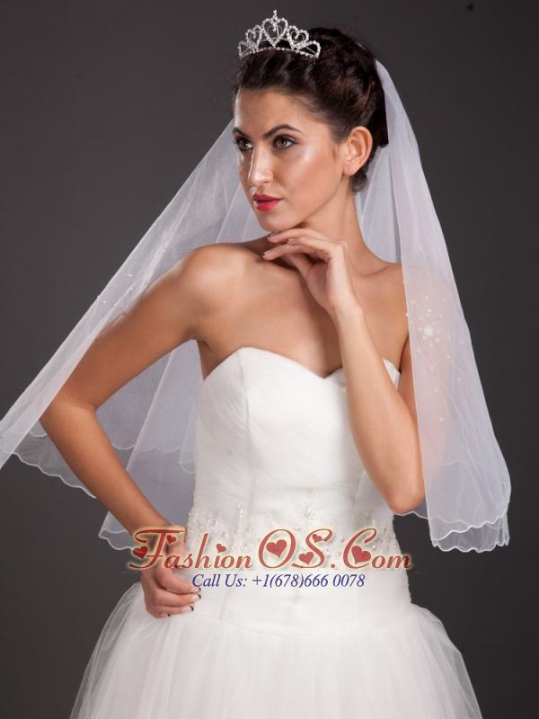 Elegant Alloy Tiara With Beading Decorates