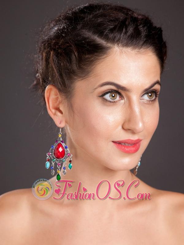 Gorgeous Onyx Chandelier Drop Earrings