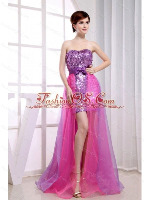 Paillette Over Skirt Beading Stylish Organza And Sequins Strapless ...