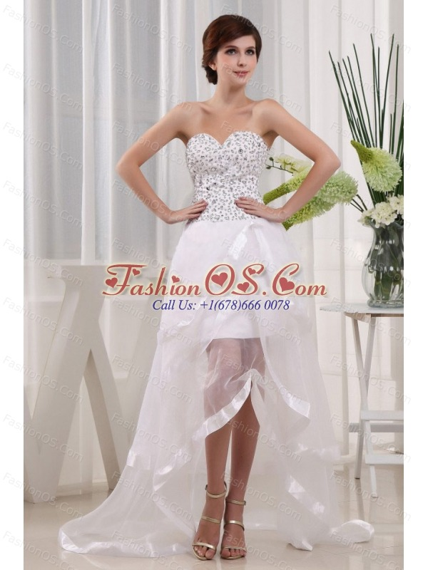 Popular Prom Dress Sweetheart Beaded Decorate Bust and Ruffled Layeres In 2013