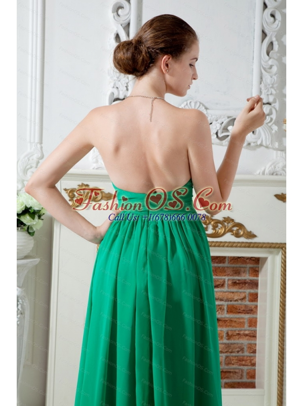 Ruch Sweetheart Floor-length Green Dama Dress