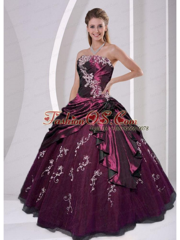 Exclusive Ball Gown Strapless Floor-length Quinceanera Dress