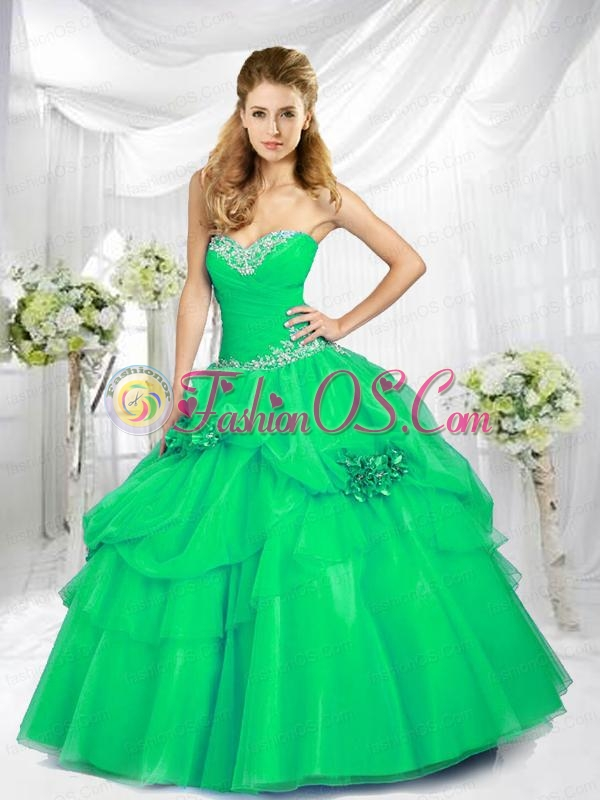2015 Fashionable Sweetheart Blue Quinceanera Dresses with Beading