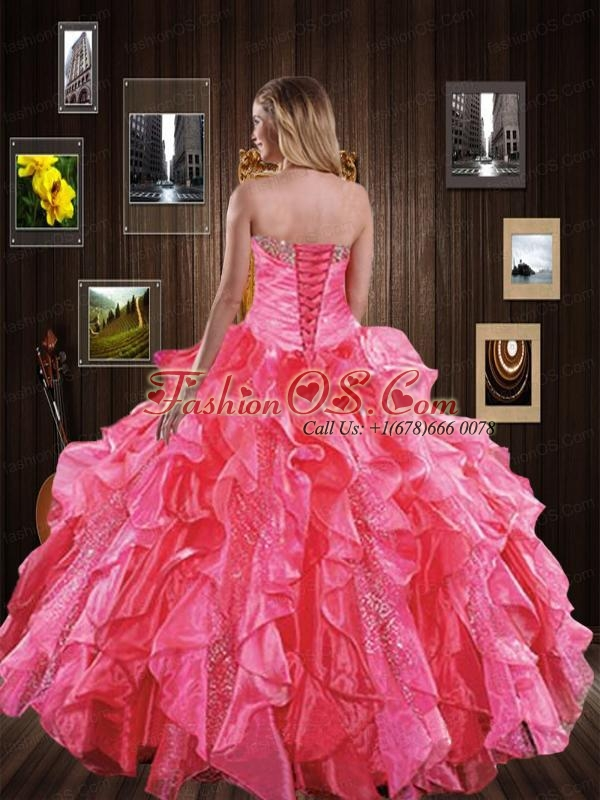 2015 Wonderful Royal Blue Quinceanera Dresses with Beading and Ruffles