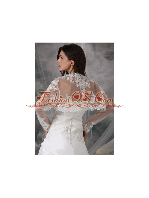 Gorgeous Embroidery White Jacket With Lace