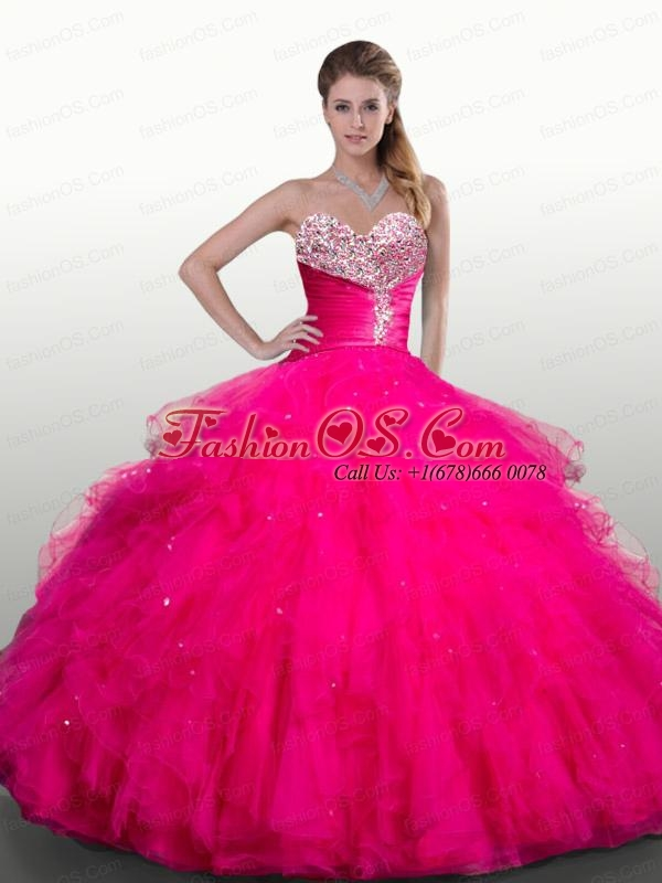 Sweetheart Royal Blue Quinceanera Dresses with Beading and Ruffles