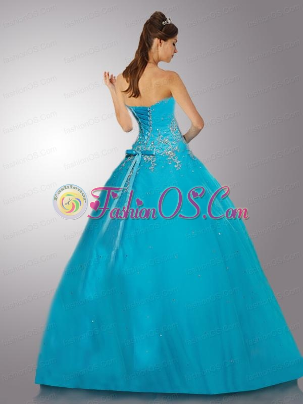 Exquisite Appliques and Beading Hot Pink Quinceanera Dress