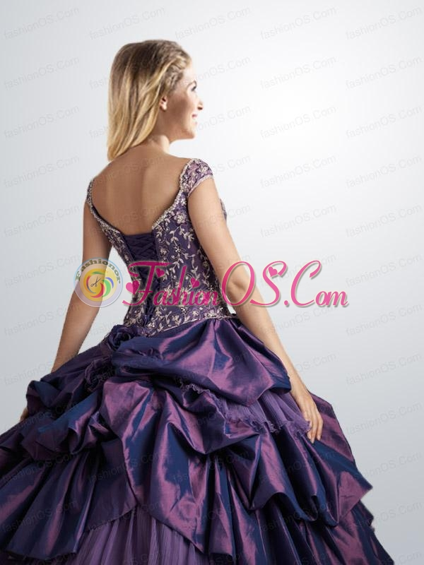 Off the Shoulder Quinceanera Dress with Pick Ups and Appliques