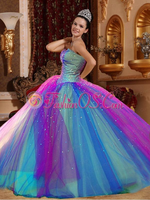 The Most Popular Ball Gowns Sweetheart Floor-length Quincenera Dresses