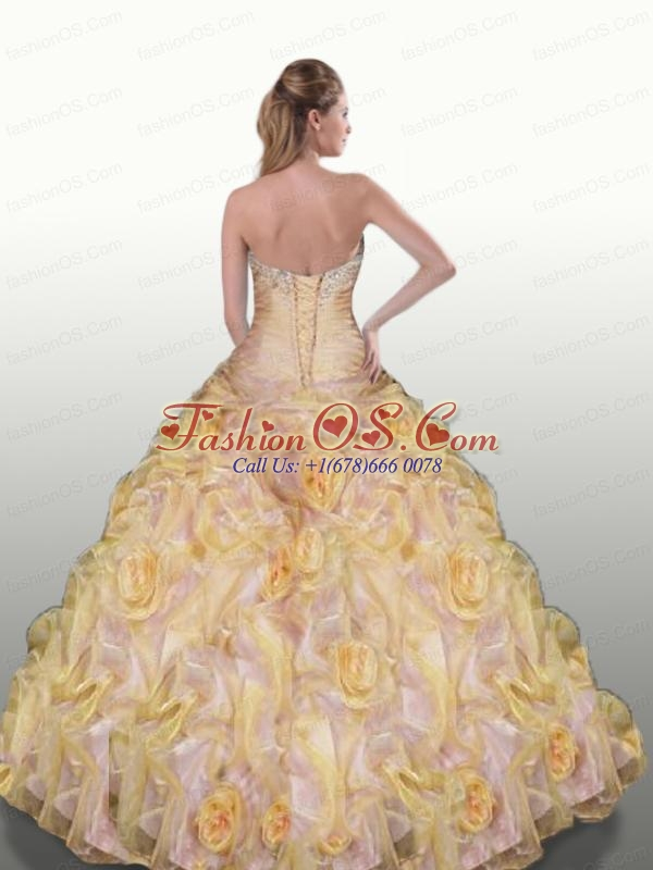 Sweetheart Appliques and Pick-ups Quinceanera Dresses  in Red