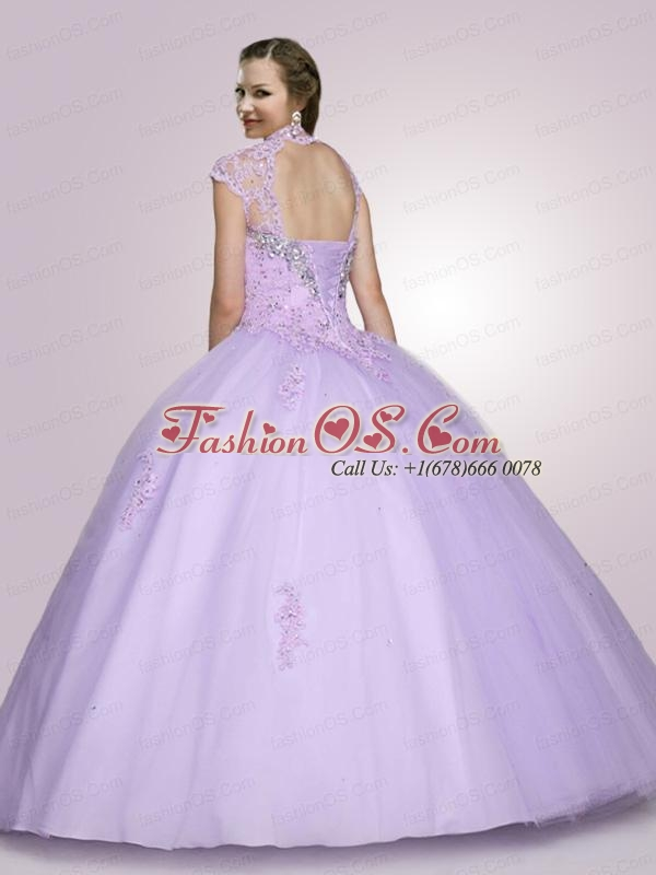 Spring Brand New Sweetheart Beading Quinceanera Dress in Apple Green