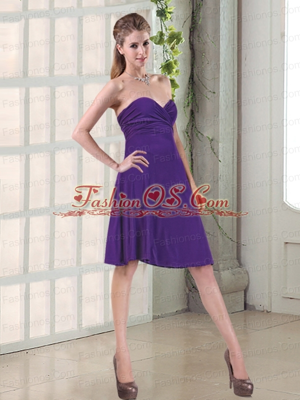 The Latest Sweetheart Prom Dresses with Ruching