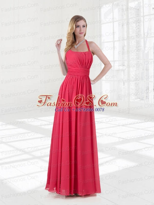 2015 The Brand New Style Ruching Prom Dresses