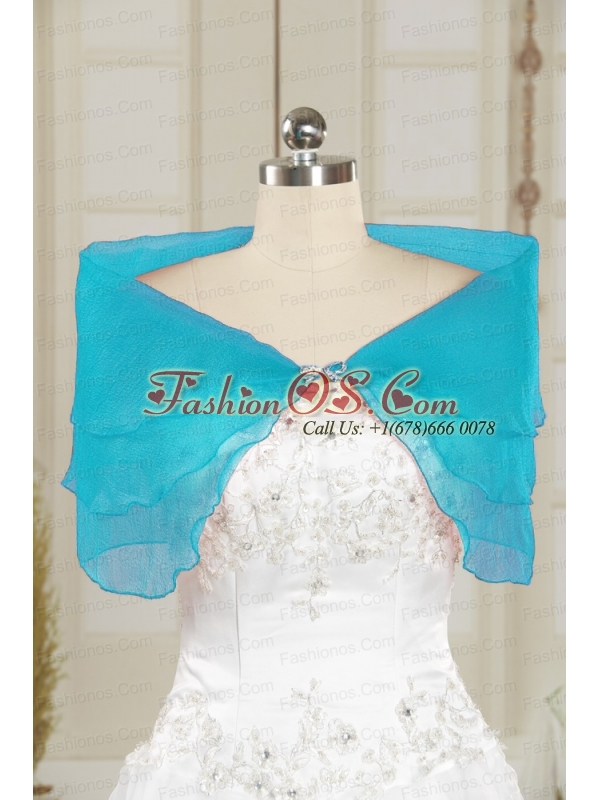 2014 Organza Beading New Style Shawls in Yellow
