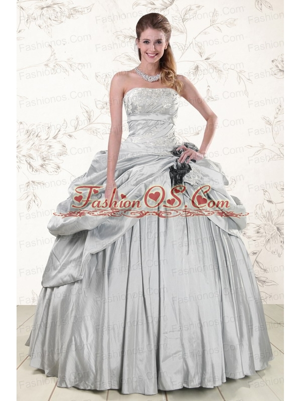2015 Cheap Quinceanera Dresses with Strapless