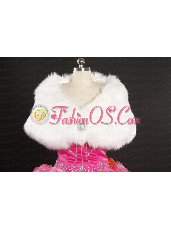 Beading and Appliques Baby Pink Quinceanera Dresses for 2015