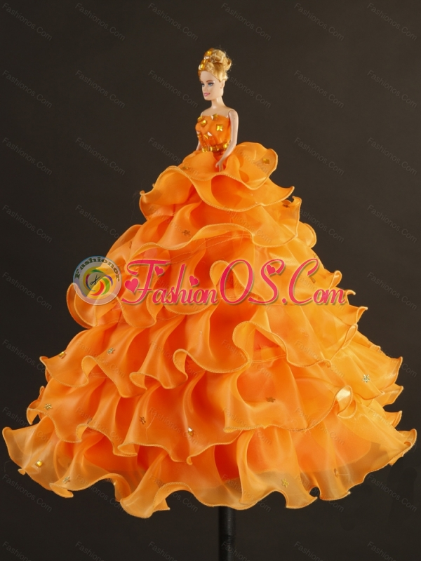 Detachable Yellow Sweet 15 Dresses with Beading and Ruffles