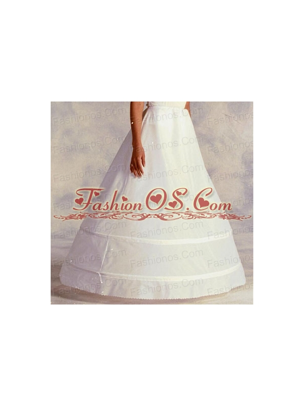Most Popular Organza Ball Gown Floor-length White Petticoat
