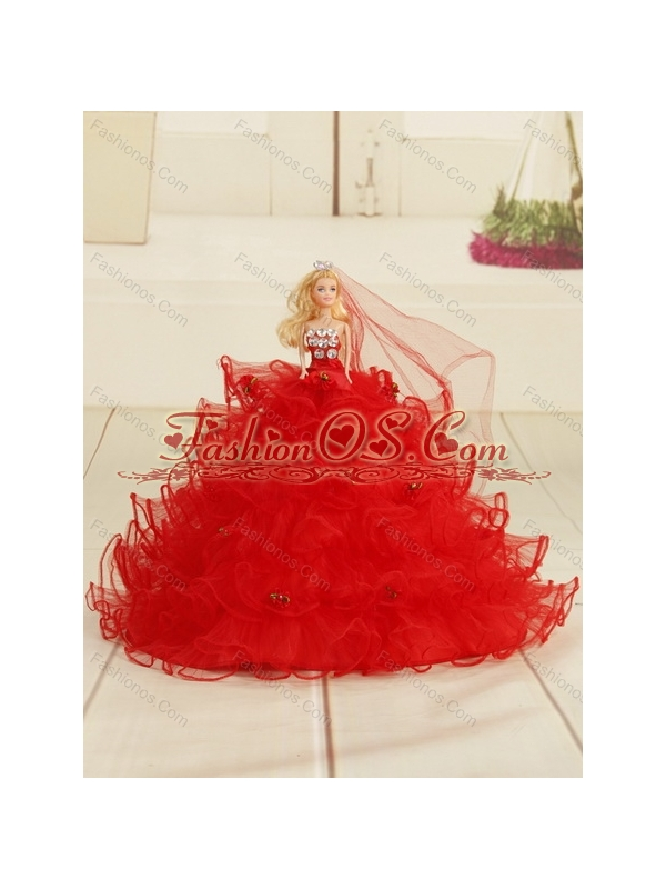 2015 Wine Red Sweetheart Quinceanera Dresses with Embroidery and Pick Ups