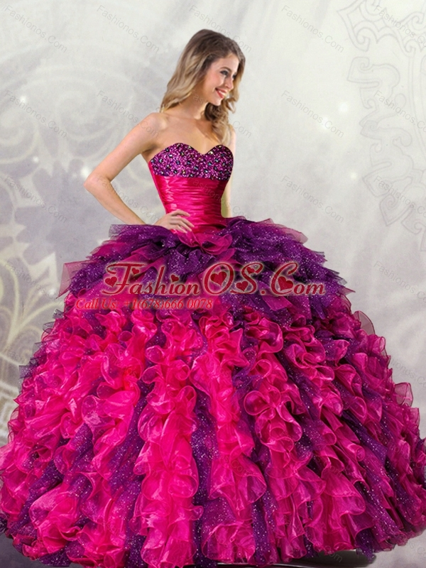 New Arrival  The Most Popular Ball Gowns Sweetheart Detachable Quincenera Dresses