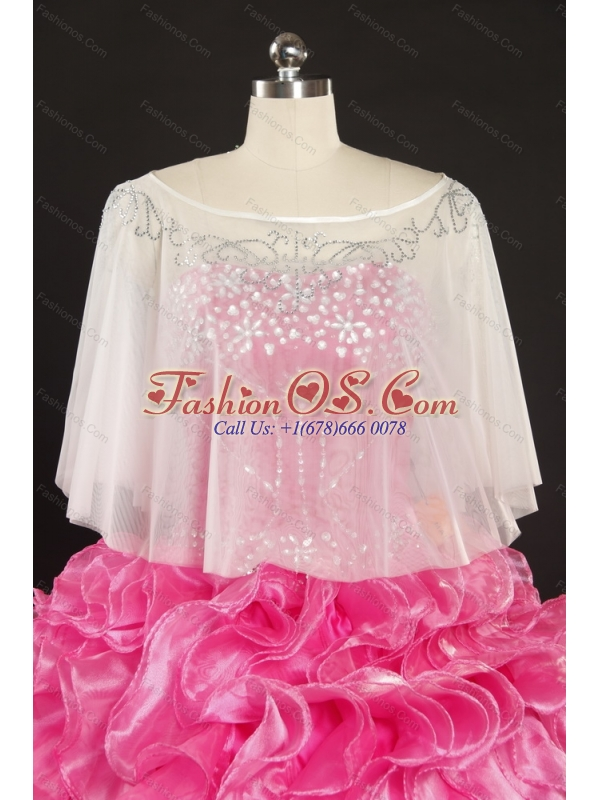 2015 Brand New Sweetheart Wedding Dress with Beading