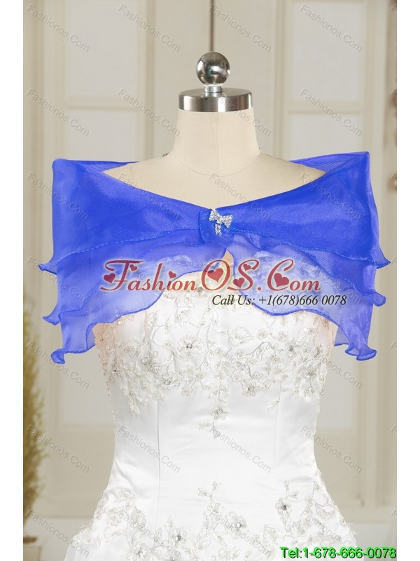 2015 Beautiful  Fashionable One Shoulder Royal Blue Prom Dress with Lace