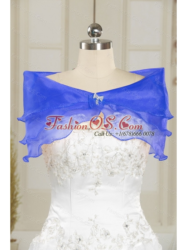 Custom Made Appliques and Ruffles Sweetheart Quinceanera Dresses for 2015