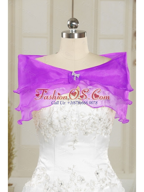 Custom Made Sweetheart 2015 Quinceanera Dresses with Beading and Pick Ups