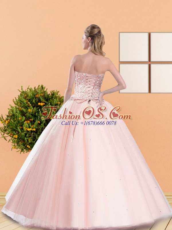 2015 Classical Ball Gown Quinceanera Dresses with Beading