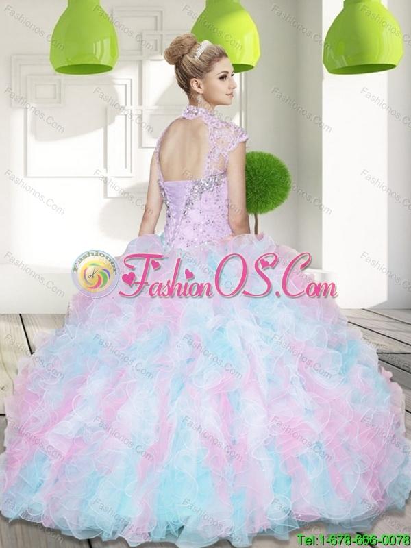 Multi Colored Sweet 16 Dresses