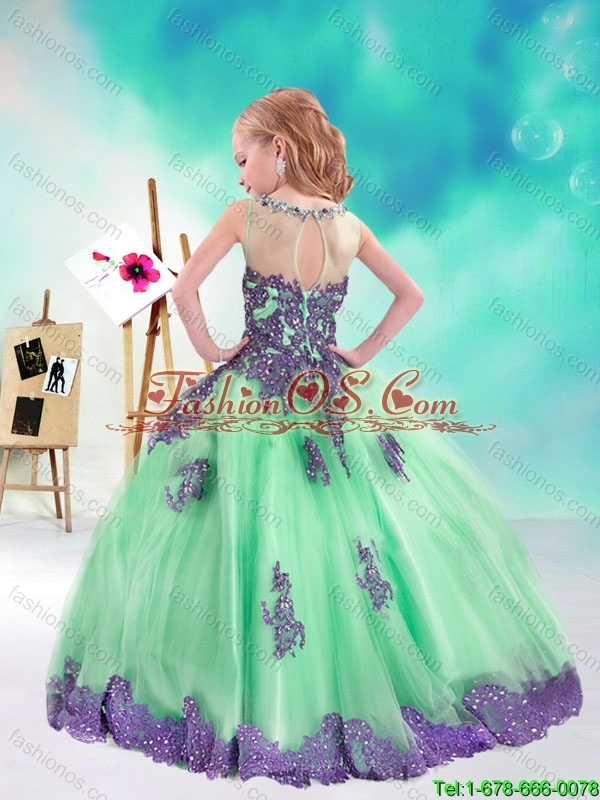 Sweet Multi Color Mini Quinceanera Dresses with Appliques and Beading