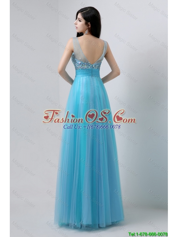 Junior Sweetheart Tulle Prom Dresses with Beading