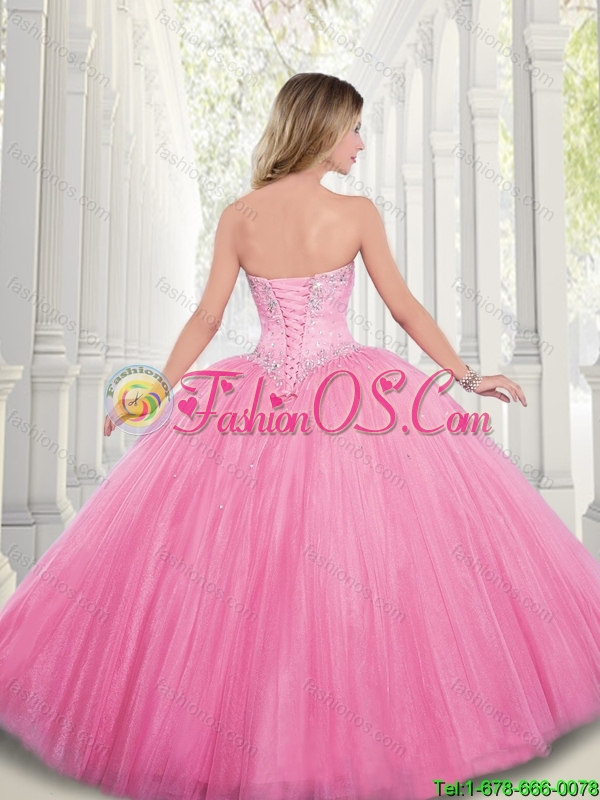 2016 Spring Best Selling Beading Sweetheart Quinceanera Dresses