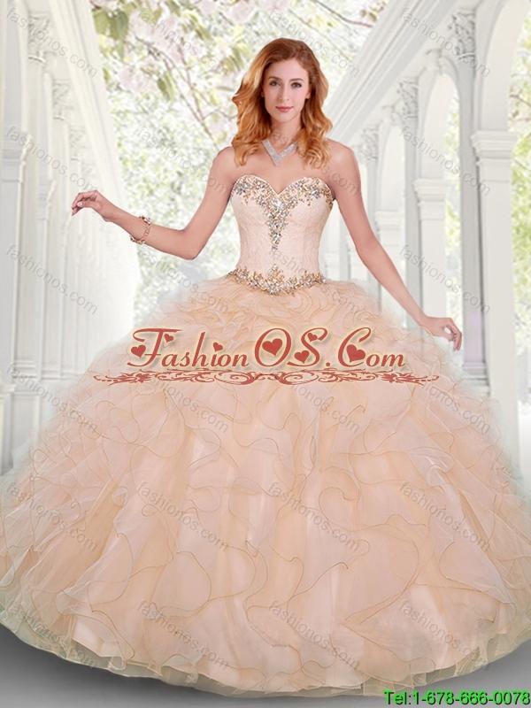 Summer quinceanera dresses